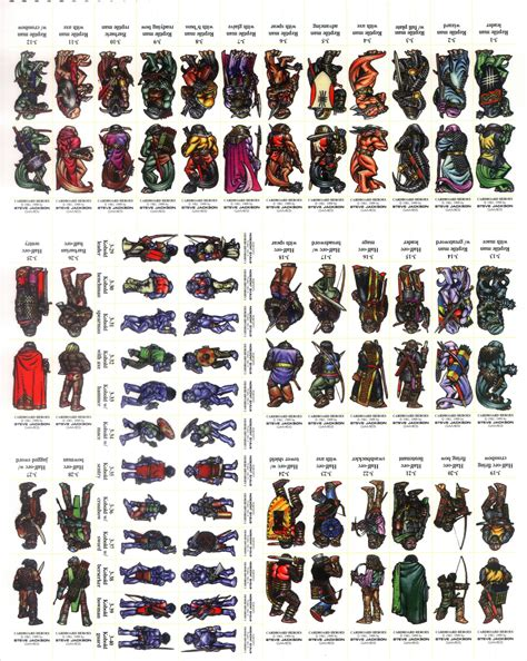 printable heroes dwarf tg traditional games