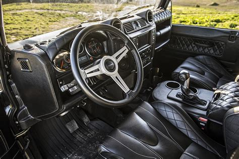 defender land rover interior modern land rover defender interior upgrades for enthusiasts