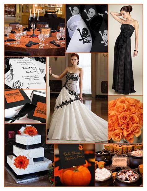 halloween themes wedding 24 best images about halloween wedding ideas decorations