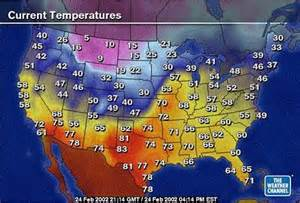 Temperature Map Of Usa by Pics Photos Weather Map Usa Today