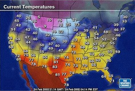 usa temp map question 3