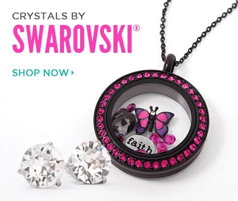 Shop Origami Owl - crystals by swarovski origami owl custom jewelry