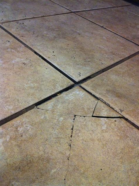 How To Fix A Broken Tile On The Floor by Suggestions For Repairing Cracked Ceramic Floor