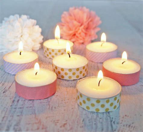 tea light candles washi tea light candles popsugar smart living