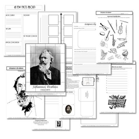 printable music lesson plans great composers 282 best images about music listening activities on