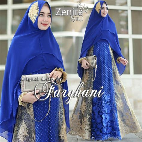 Supplier Baju Laluna Dress Hq supplier baju muslim terbaru