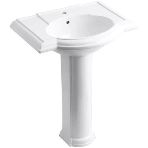 Pedestal Sink And Toilet Combo American Standard Cadet Pedestal Combo Bathroom Sink In