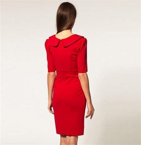 Dress Merah Import dress import merah cantik natal model terbaru jual