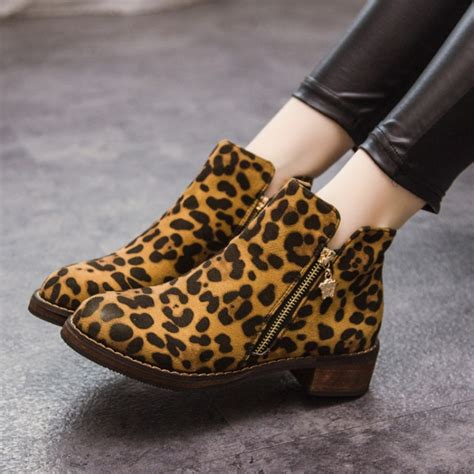new autumn winter retro suede leather ankle boots for