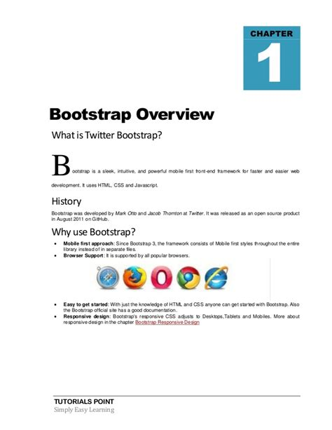tutorial bootstrap mobile bootstrap tutorial