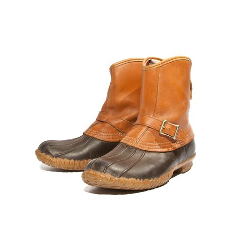 s bean boots s l l bean lounger boots and buckle bean boots