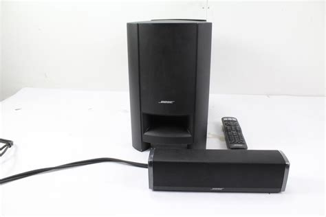 bose cinemate  home theater speaker system property room