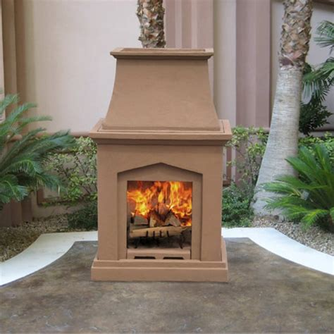 outdoor wood burning fireplaces chino classic wood burning outdoor fireplace
