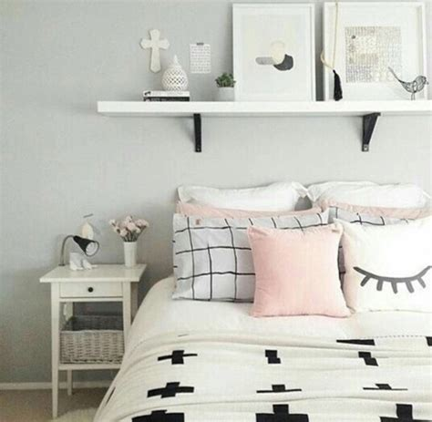 cute light pink bedding home accessory bedding bedroom pillows nightstand