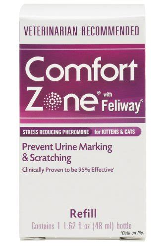 comfort zone products reviews comfort zone with feliway for cats diffuser refill 48