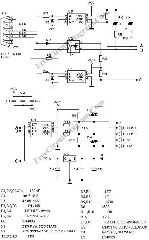 wiring diagram for rs485 wiring diagrams