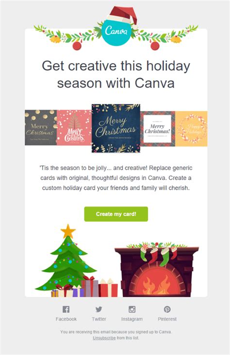 card canva template email template ideas with 15 inspirational exles