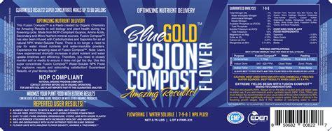 blue gold fusion compost flower fertilizer npk