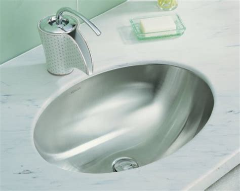 Kohler Lavatory Sink by Kohler K 2602 Su Na Rhythm 23 Quot Undermount Stainless Steel