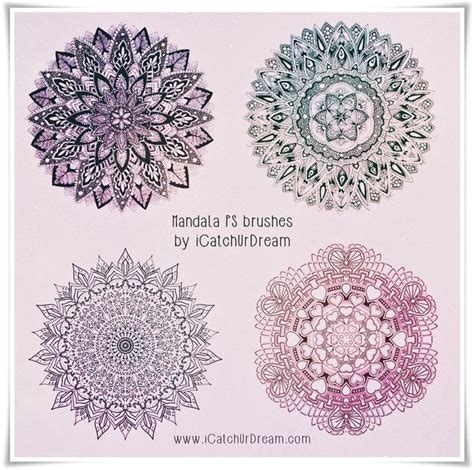 mandala templates for photoshop mandala hd photoshop brushes