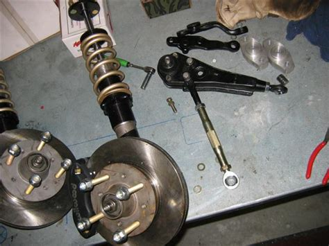 Datsun 510 Suspension Upgrades by Wagon Front Suspension Racing On The Cheap