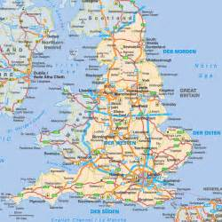 England On A Map by England Map Images