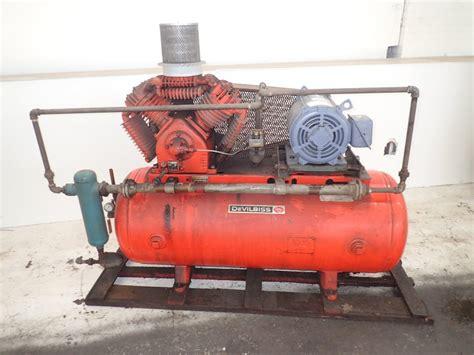 devilbiss vdv air compressor  hp  ebay