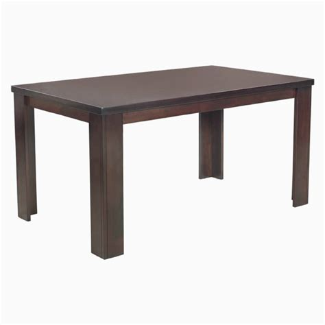 Godrej Dining Tables Godrej Interio Dining Table Brown Black Engineered Wood 6 Seater Dining Table Price In
