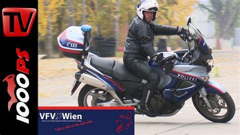 Motorrad Lederkombi Wien by Video Fahrtechnik Kurse Vfv Der Polizei 50 000 Teilnehmer