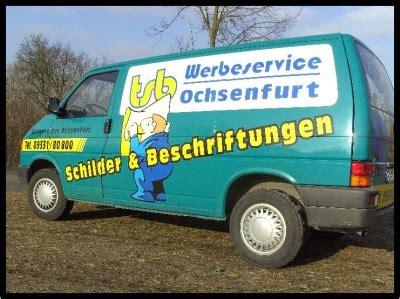 Folienbeschriftung Englisch by Werbeservice Tsb Werbeunternehmen In Ochsenfurt Lindhard