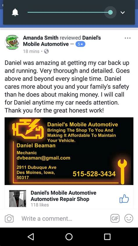 boat repair shops des moines iowa daniel s mobile automotive automotive repair shop des