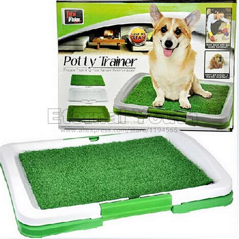 potty pad indoor doggie bathroom portable indoor pet dog toilet training puppy potty pad