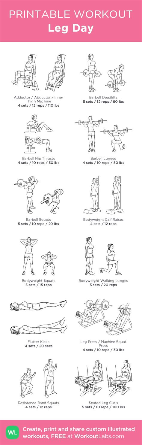 25 best ideas about weight lifting workouts on