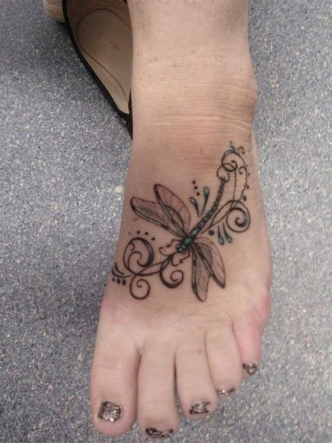 dragonfly tattoo designs on foot 67 best tats i images on ideas
