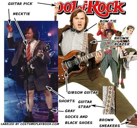 Gitar Rock You S 083 Hootenanny school of rock costumes costume playbook