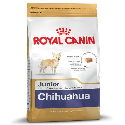 alimentazione chiwawa royal canin breed chihuahua junior croquettes pour chiot
