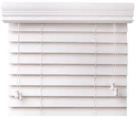1 Inch Mini Blinds 2 Quot Faux Wood Blinds Our Top Selling White Faux Wood Blind
