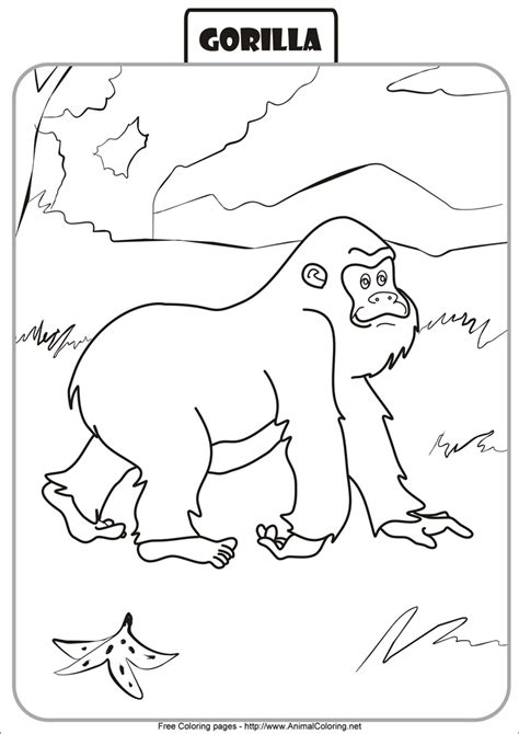 goodnight gorilla coloring page free goodnight gorilla coloring pages