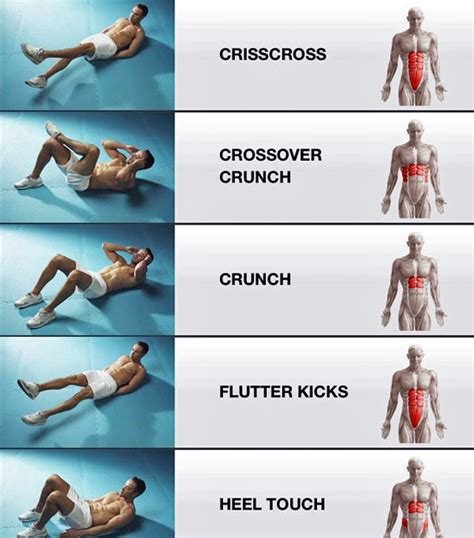5 exercises for tightening different muscles in your stomach healthy food house