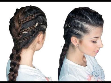 how to do rockstar hairstyles chic rockstar braided look evelinicutza video beautylish