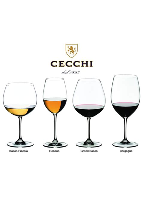 i bicchieri come scegliere i bicchieri da vino famiglia cecchi