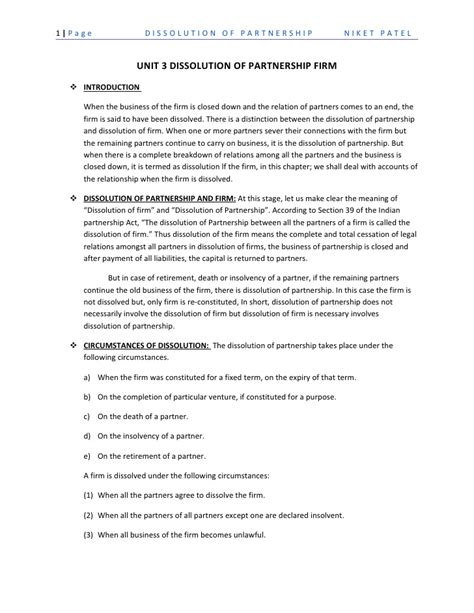 dissolution of partnership agreement template partnership dissolution agreement 8 12 partnership