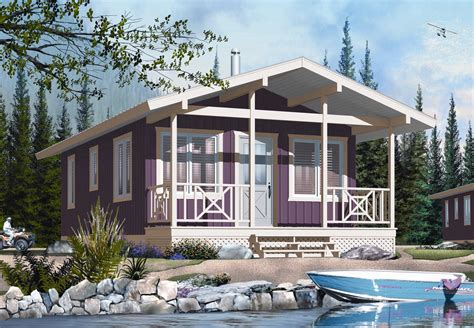 tiny house vacation home four season vacation home plan 2177dr architectural