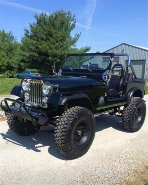 blackout jeep blackout jeep cj7 motorvation salutes tires big