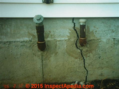 foundation sinking in one corner how to repair damaged foundations foundation cracks slab