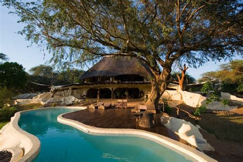 home concept design la riche observe wild elephants herds at this stunning african villa