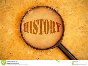 origin of the word history stock image image 36388781