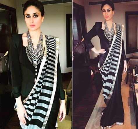 Saree Drapes 15 Best Looks Of Kareena Kapoor Fashion In Indian Wear