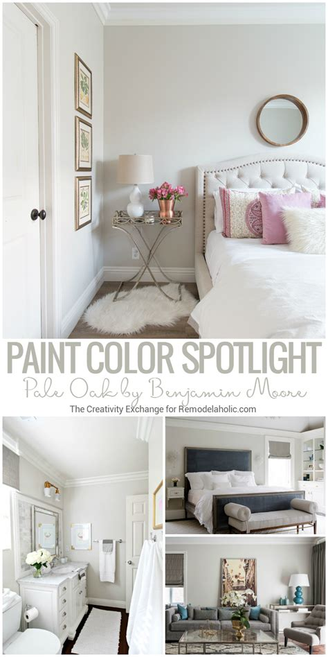 remodelaholic color spotlight benjamin pale oak