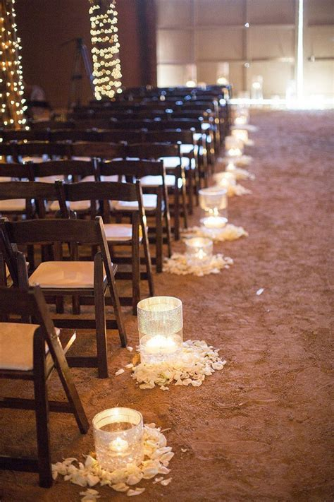Wedding Aisle Lights by 25 Best Ideas About Aisle Decorations On